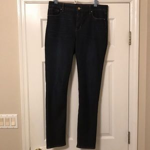"WHBM size 10 longs ""The Slim"" denim jeans"